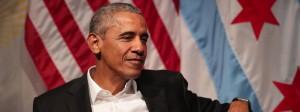 Ganz entspannt: Barack Obama am Montag in Chicago