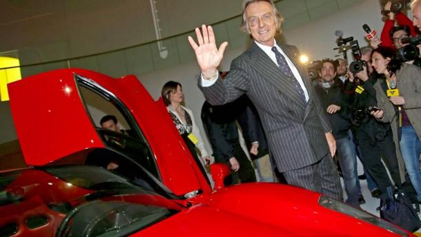 Ferrari-Chef Montezemolo tritt zurück