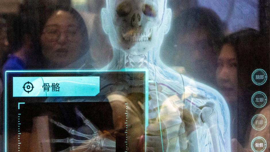 Technik der Zukunft: Besucher bestaunen Neues auf der Hochtechnologie-Messe in Shenzhen