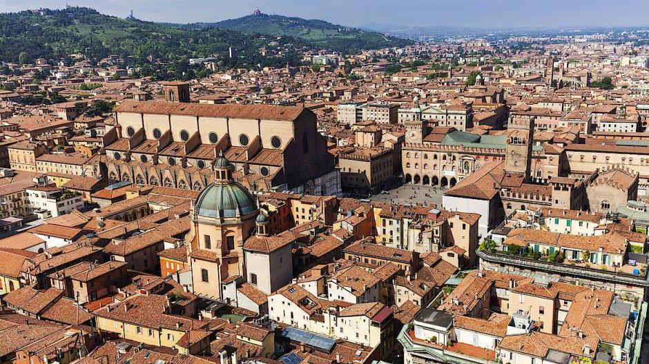 Die Altstadt von Bologna