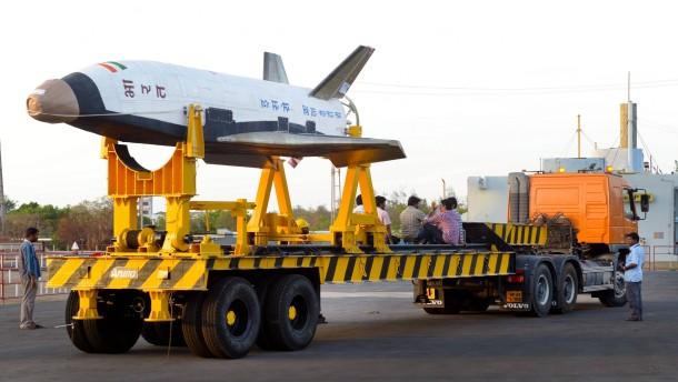 Indien testet Weltraumtransporter