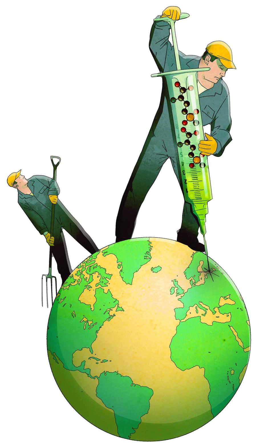 Der Planet wird gut versorgt, und sogar allzu gut.