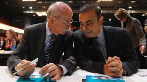 Renault-Chef Ghosn treibt Sanierung voran