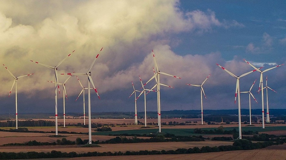 Windräder in Brandenburg, Sieversdorf