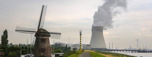 Atomkraftwerk Doel in Belgien