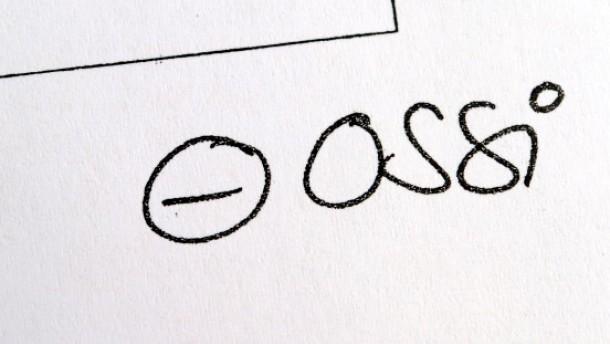 """""""Ossis"""" sind kein eigener Volksstamm"""
