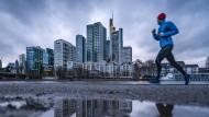 Frankfurter Banken-Hochhäuser: Die Aussichten verdüstern sich.