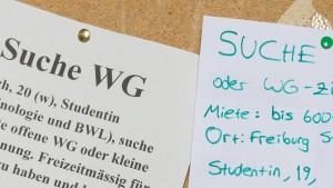 Studentische Mieten rasant gestiegen