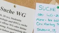 Verzweifelt gesucht: Studentenbuden