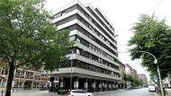 Stein des Anstoßes: die Greensill Bank in Bremen