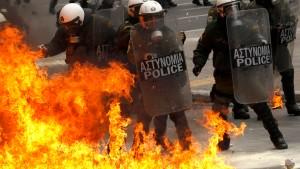 Griechische Rechte beschimpft Merkel