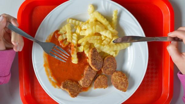 Die Kantinen-Not der Vegetarier