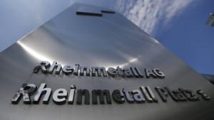 Rheinmetall gibt Bestechung zu