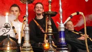 Das Geschäft der Shisha-Bars floriert