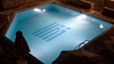 Swimmingpool in Griechenland