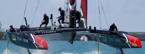 Neuseeland bei der siebten Finalfahrt in der Great-Sound-bucht vor Bermuda