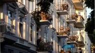 Hübsche Wohnungen in Hamburg sind sehr begehrt.