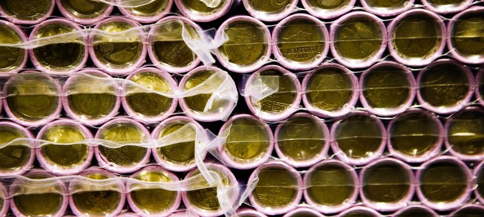 Polizei Findet Falsche Euro Münzen Aus China In Italien