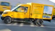 Post setzt auf Elektro-Transporter