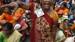 Bombays Slum steht zum Verkauf
