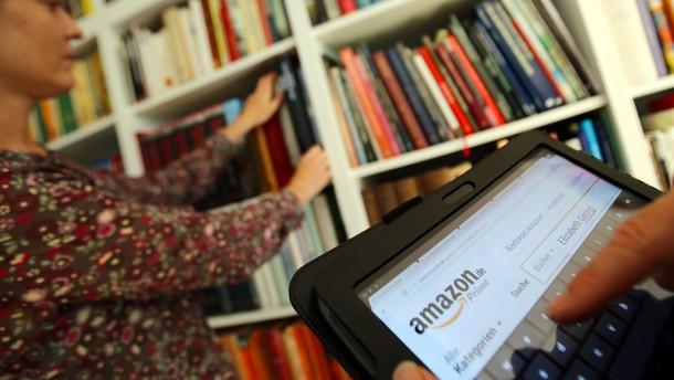 Online Buchbestellung bei Amazon