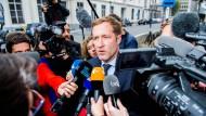 Der wallonische Ministerpräsident Paul Magnette (Bild) habe sich seit Sonntag jeder Diskussion verweigert, sagte der belgische Premierminister Charles Michel.