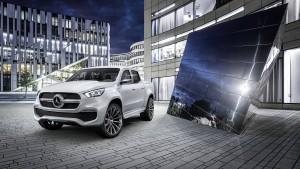 Mercedes-Benz baut jetzt auch Pick-ups