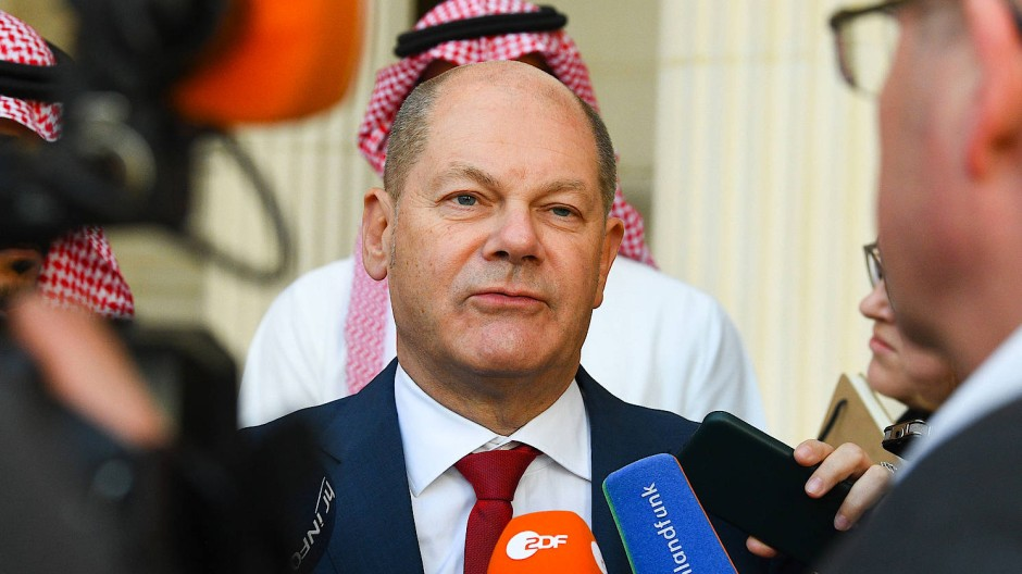 War gerade noch auf dem G20-Treffen in Riad.