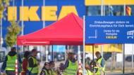 Verdi streikt bei Ikea