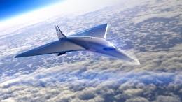 Richard Branson will neues Überschall-Passagierflugzeug entwickeln