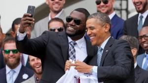 Ein Selfie mit Obama