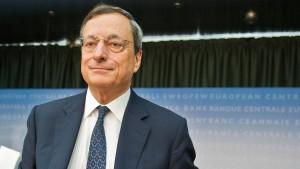 Draghi: Wir sind auf einem guten Weg
