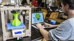 Hochschulen unter 3D-Druck
