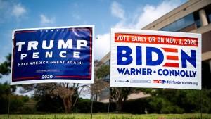 Der Anleihemarkt spielt Bidens Wahlsieg