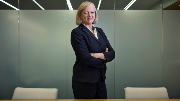 As chief of H.P., Meg Whitman writes its third act.