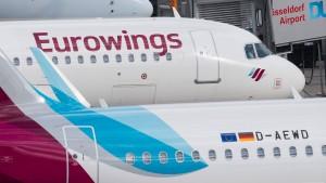 Eurowings testet Zehnerkarte fürs Fliegen