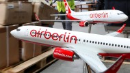 Air-Berlin-Inventar bei der Versteigerung