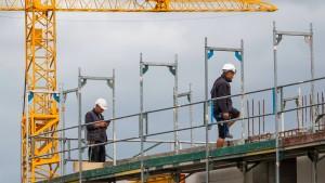Die Zahl der Baugenehmigungen sinkt