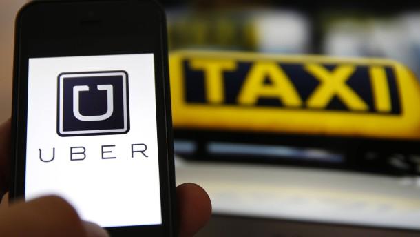 Uber startet Plattform für Taxis in Deutschland