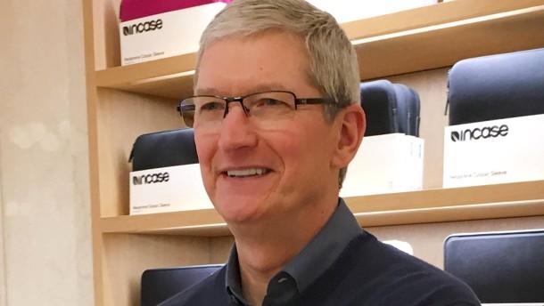 Apple-Chef trifft sich überraschend mit EU-Kommissarin