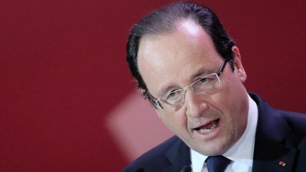 Hollande provoziert scharfe Kritik aus Deutschland