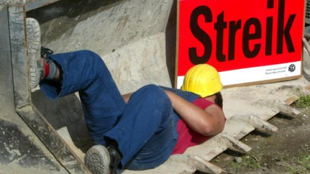 IG Bau beschließt Arbeitskampf
