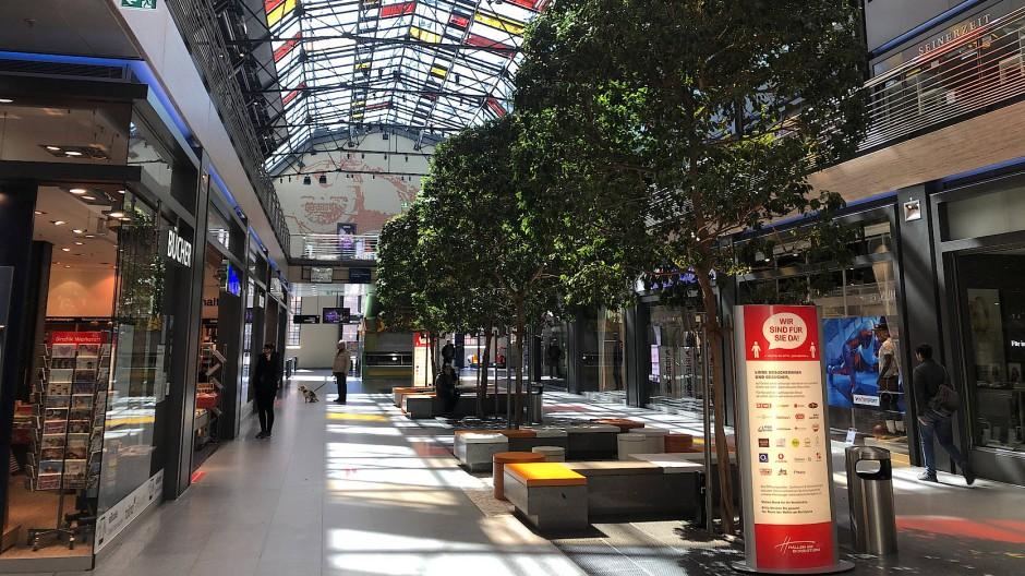 Es geht wieder los: Einkaufszentrum in Berlin