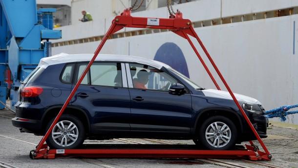 Amerikas Automarkt boomt ohne Volkswagen