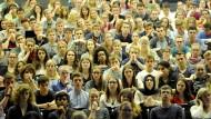 Viele Studenten – aber nicht unbedingt viele Absolventen