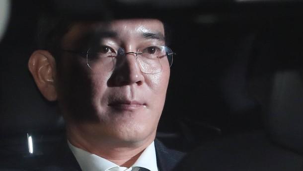 Unruhe in der Samsung-Republik