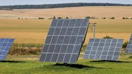 Erneuerbare Energien im Aufwind