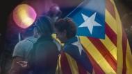 Unterstützer der Unabhängigkeit Kataloniens