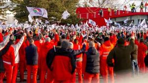 Streik der Audi-Mitarbeiter trifft den VW-Konzern