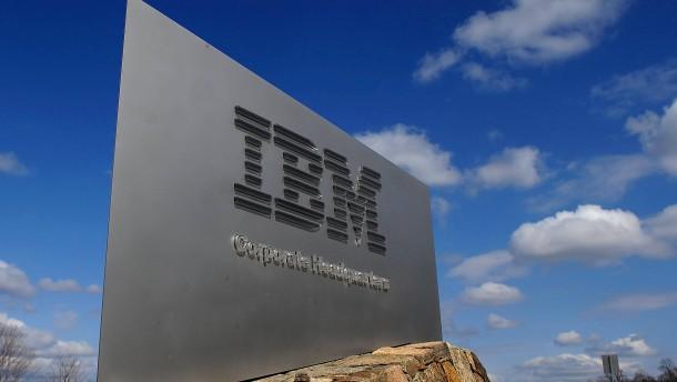 IBM-Aktienkurs steigt bis zu 10 Prozent